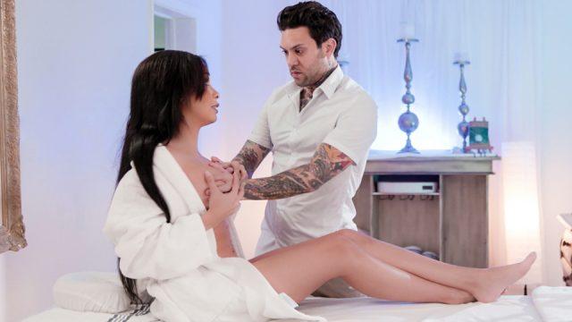 Not her regular masseur